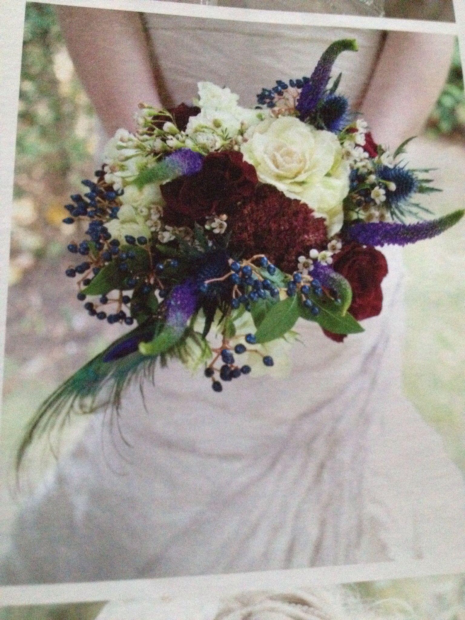 Flowers February Wedding Pinterest