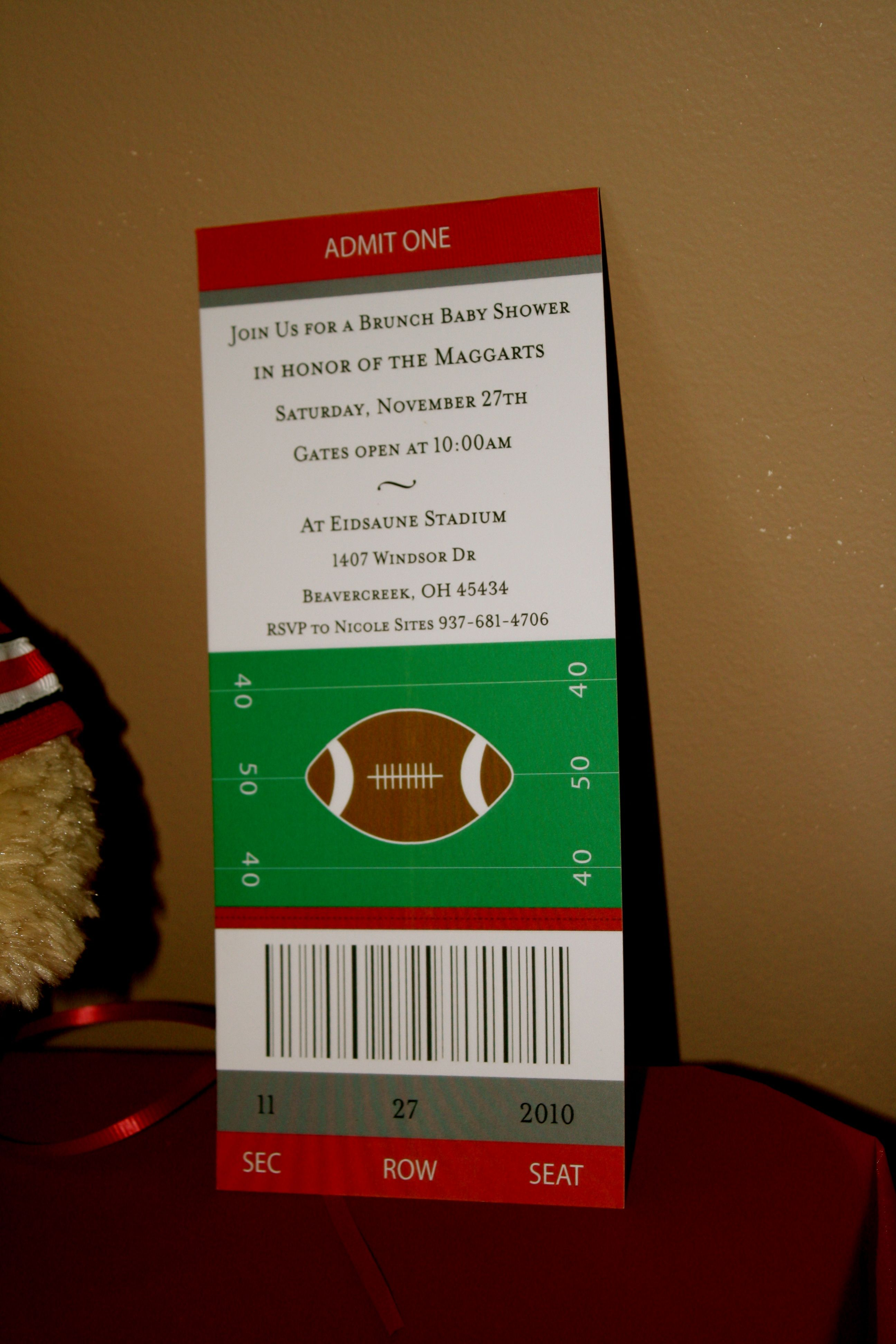 boy baby shower football game theme events pinterest