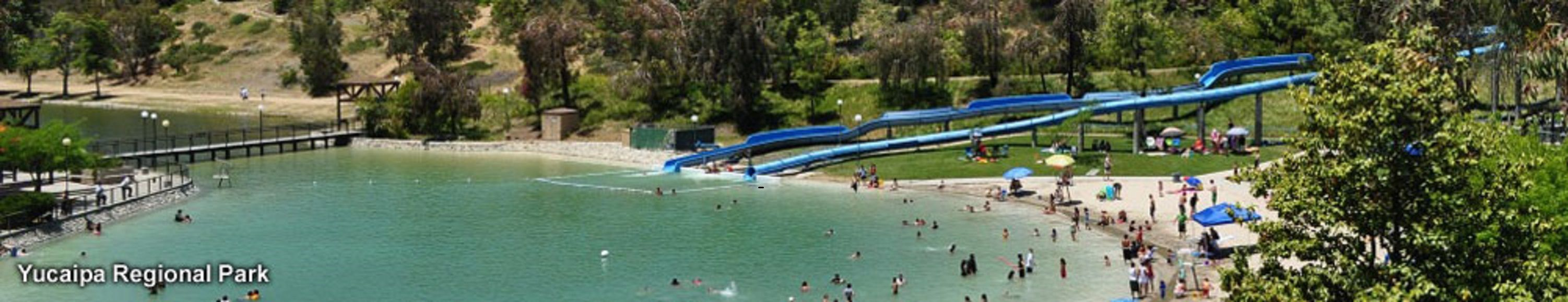 Yucaipa regional park slides socal adventure pinterest for Yucaipa regional park fishing