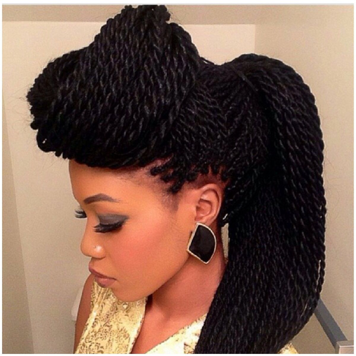 Crochet Braids East London : ... Crochet Braids Hair with Natural Box Braids With Own Hair also Box