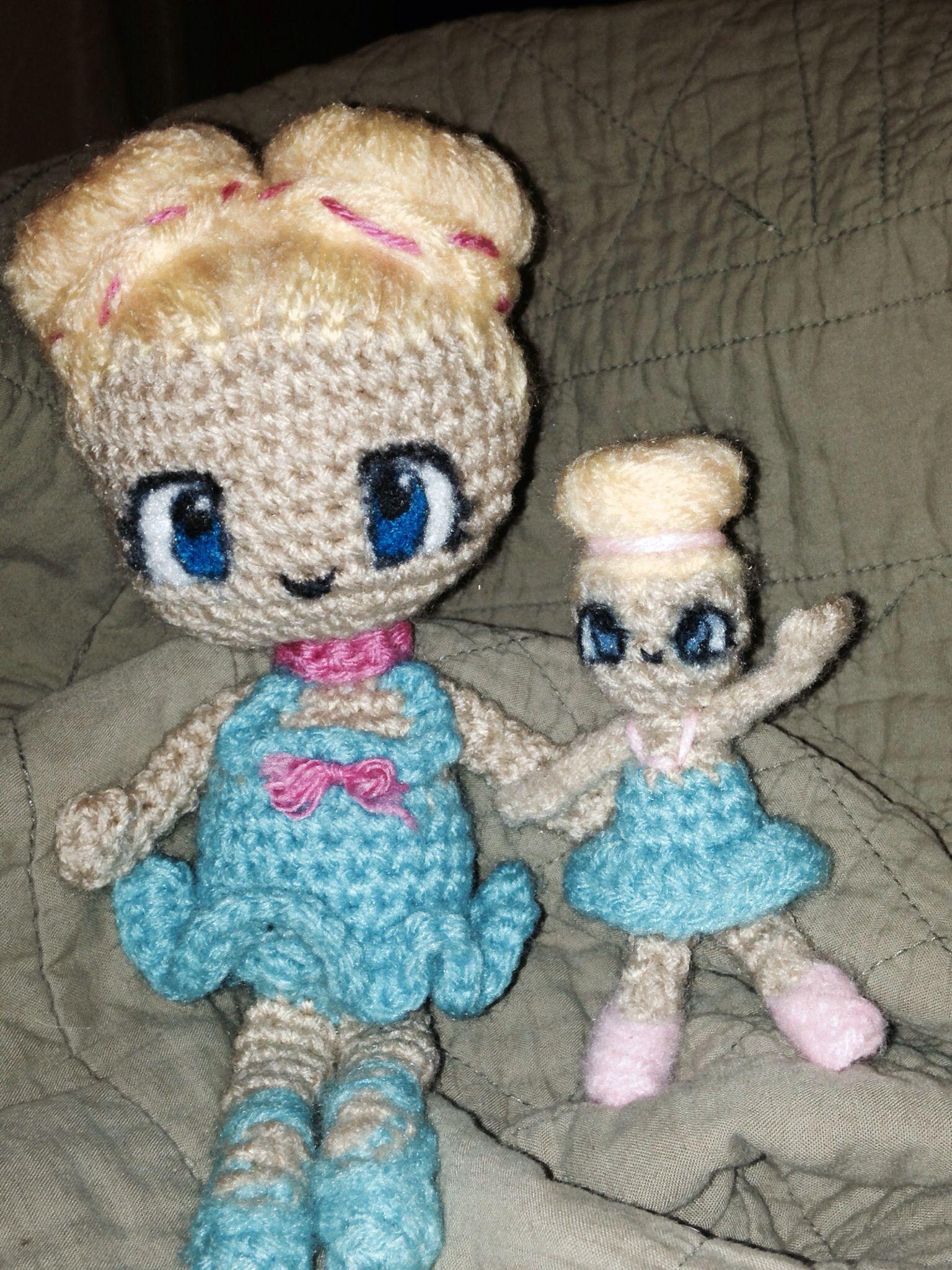 Custom ballerina dolls with felted anime eyes ibcraftie ...