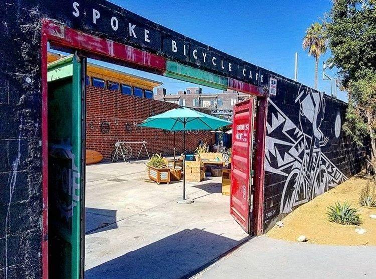 Spoke Bicycle Cafe in Los Angeles