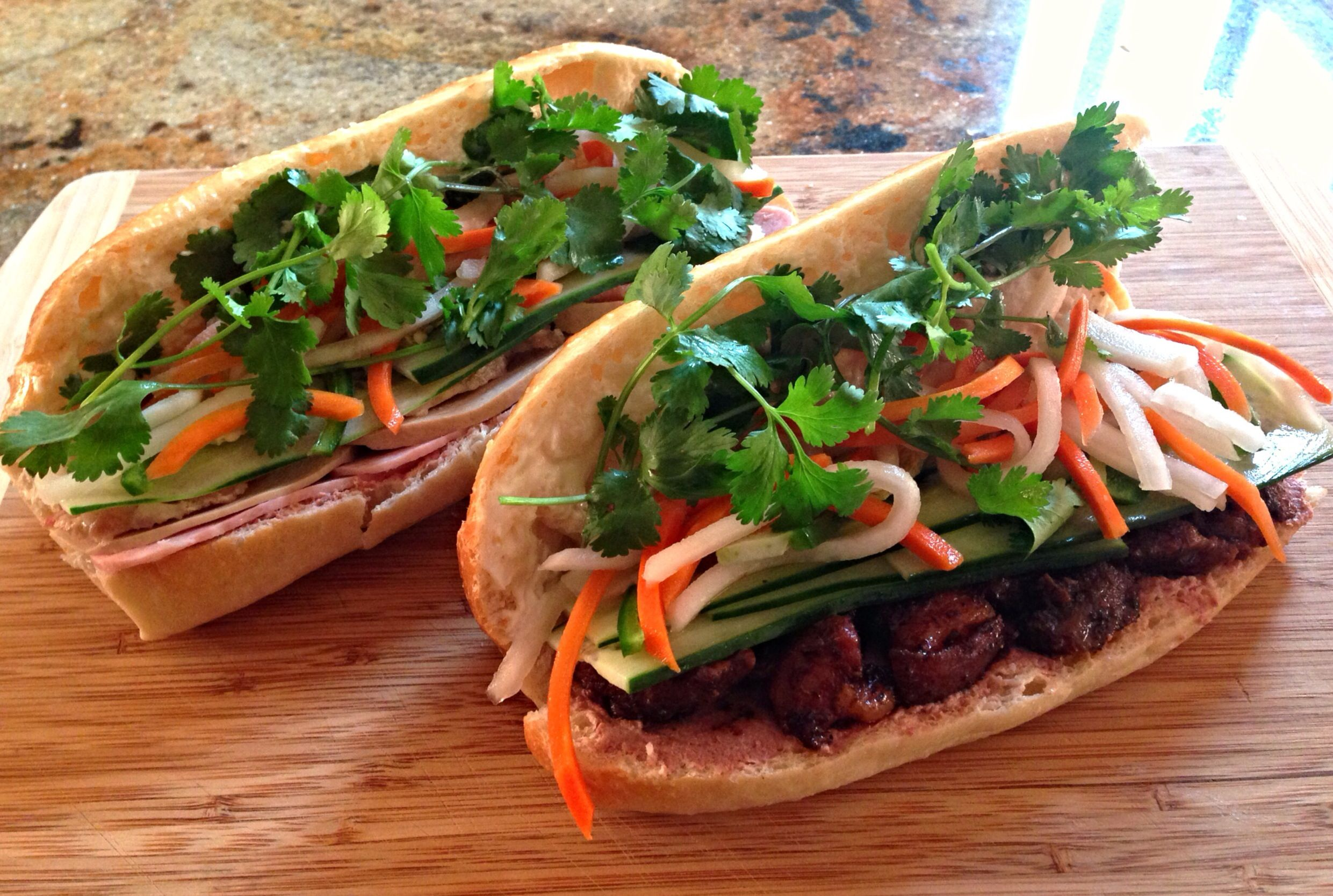 Caramelized Pork Bánh Mì Recipe — Dishmaps