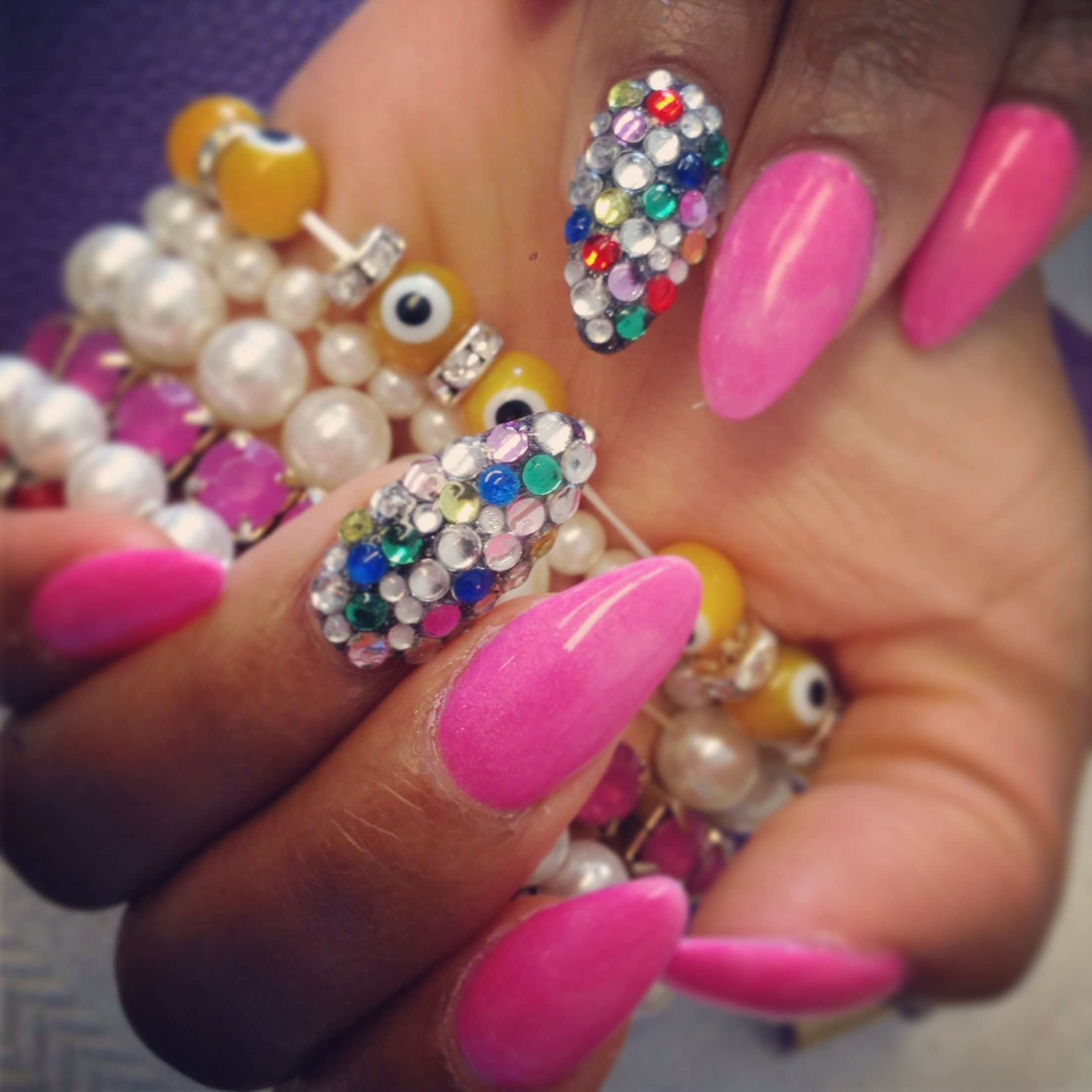 Ghetto Stiletto Nail Designs