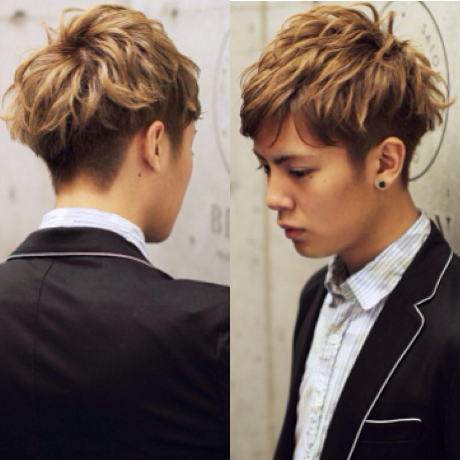 Undercut hairstyle men korean