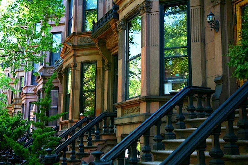 Brooklyn Brownstones home Pinterest