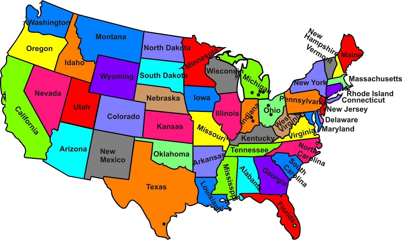 Map Of The Usa Maps Of The United States Maps Of The