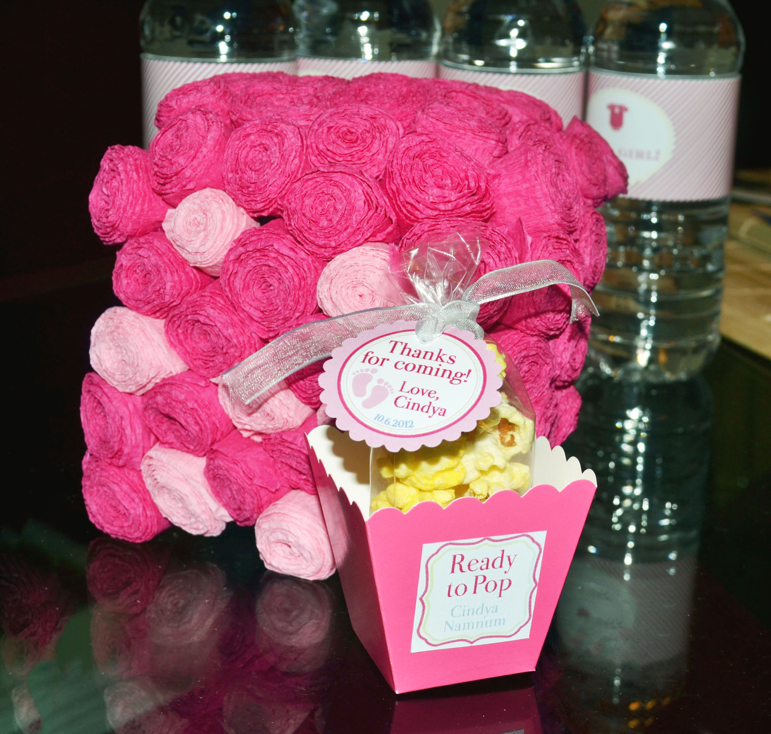ready to pop favor for baby shower babies pinterest