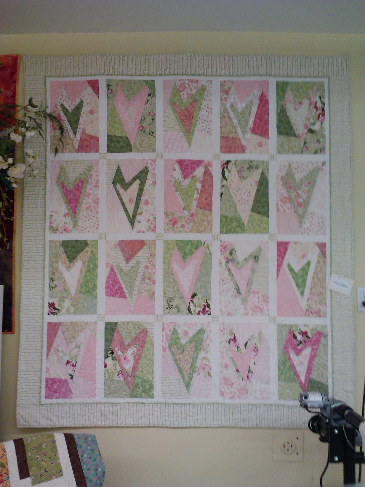 Hearts | Quilt patterns | Pinterest