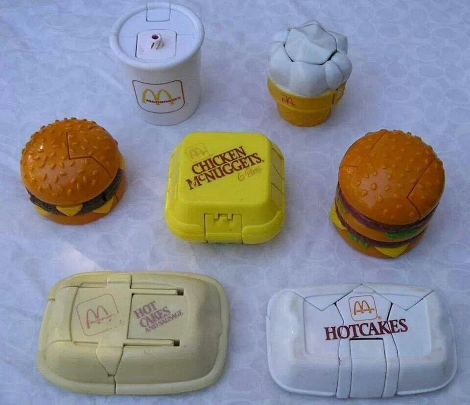 Toys From Mcdonald S Happy Meals : Mcdonalds happy meal toys my childhood pinterest