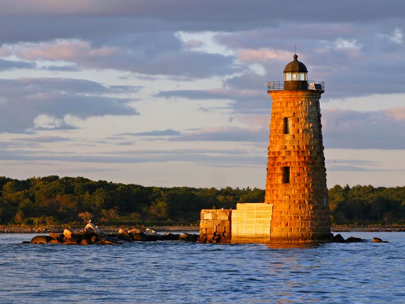 Lighthouse in Maine | ...