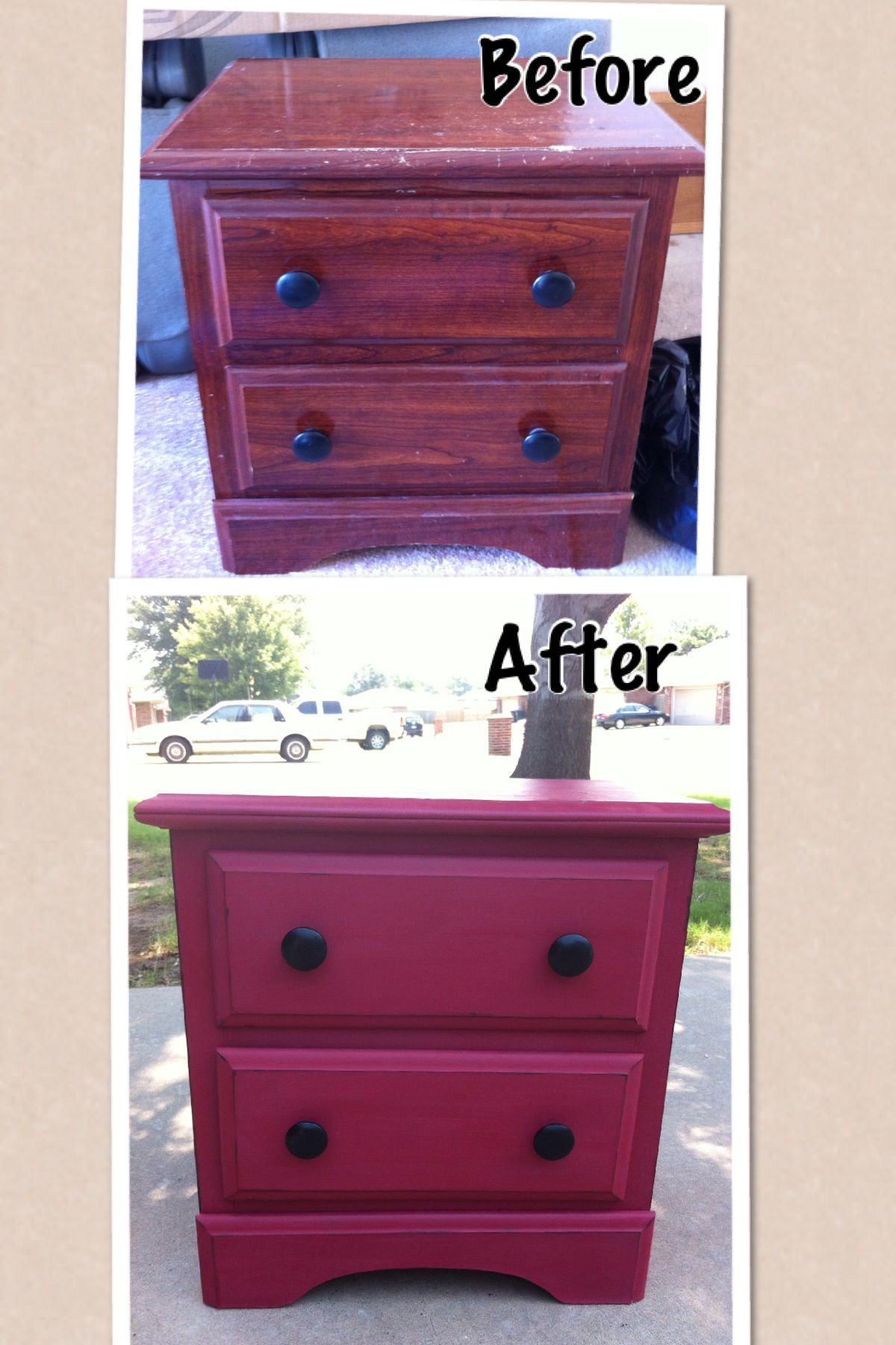 Chalk Paint Furniture Refurb Diy Pinterest