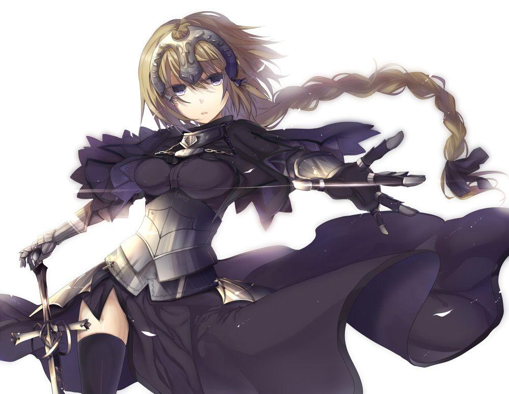 Ruler joan of arc fate zero pinterest