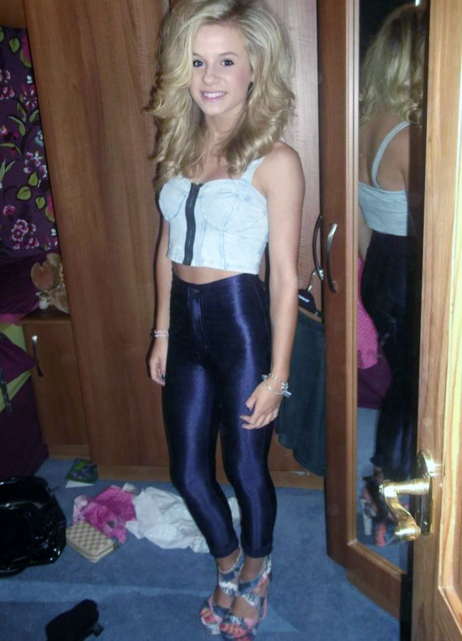 Spandex Disco Pants - Hot Girls Wallpaper