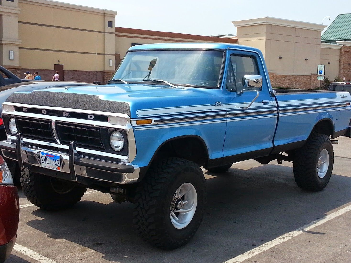 1977 ford ranger baby blue www galleryhip com the hippest pics