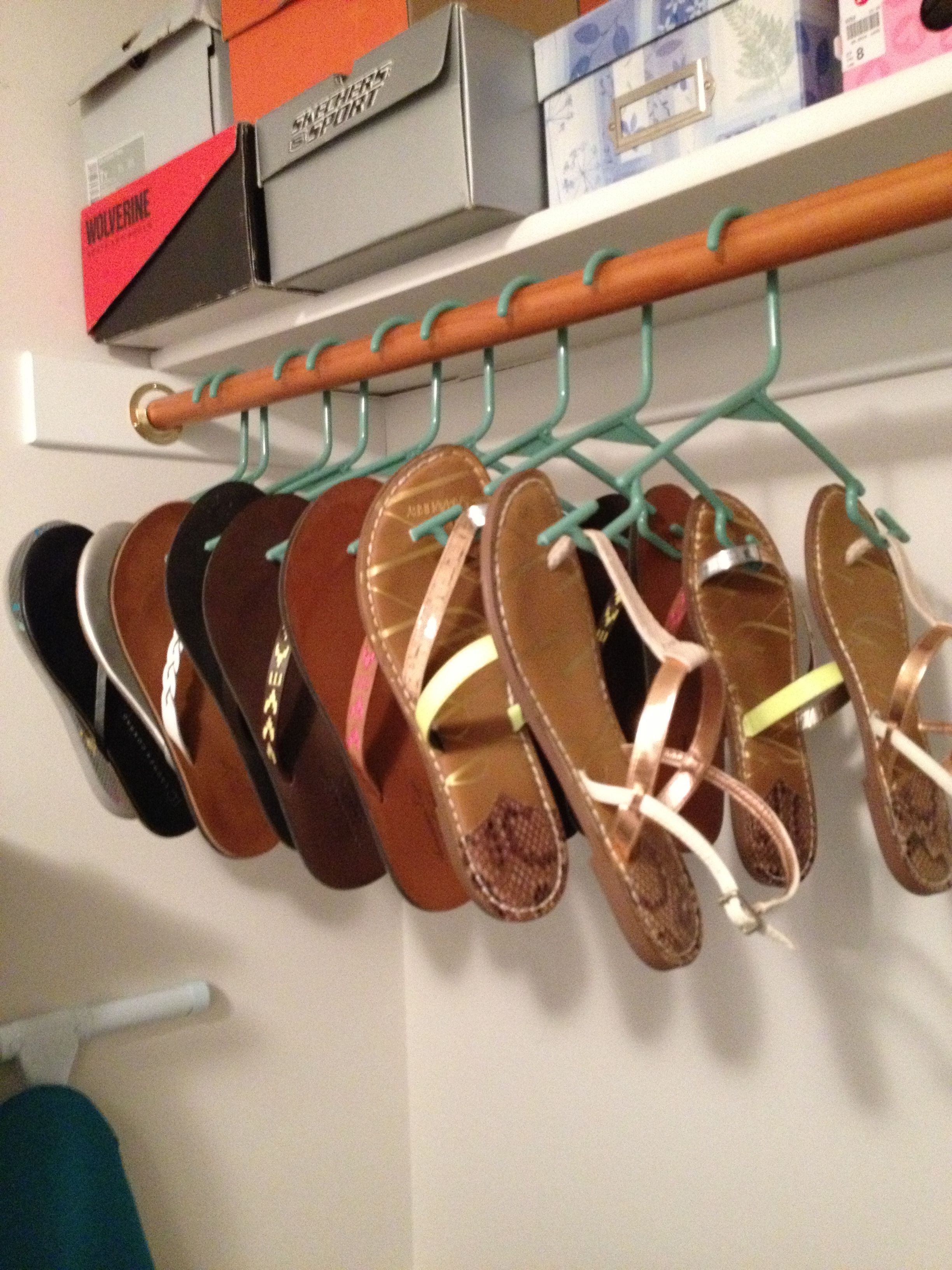 flip flop hangers me likey diy pinterest