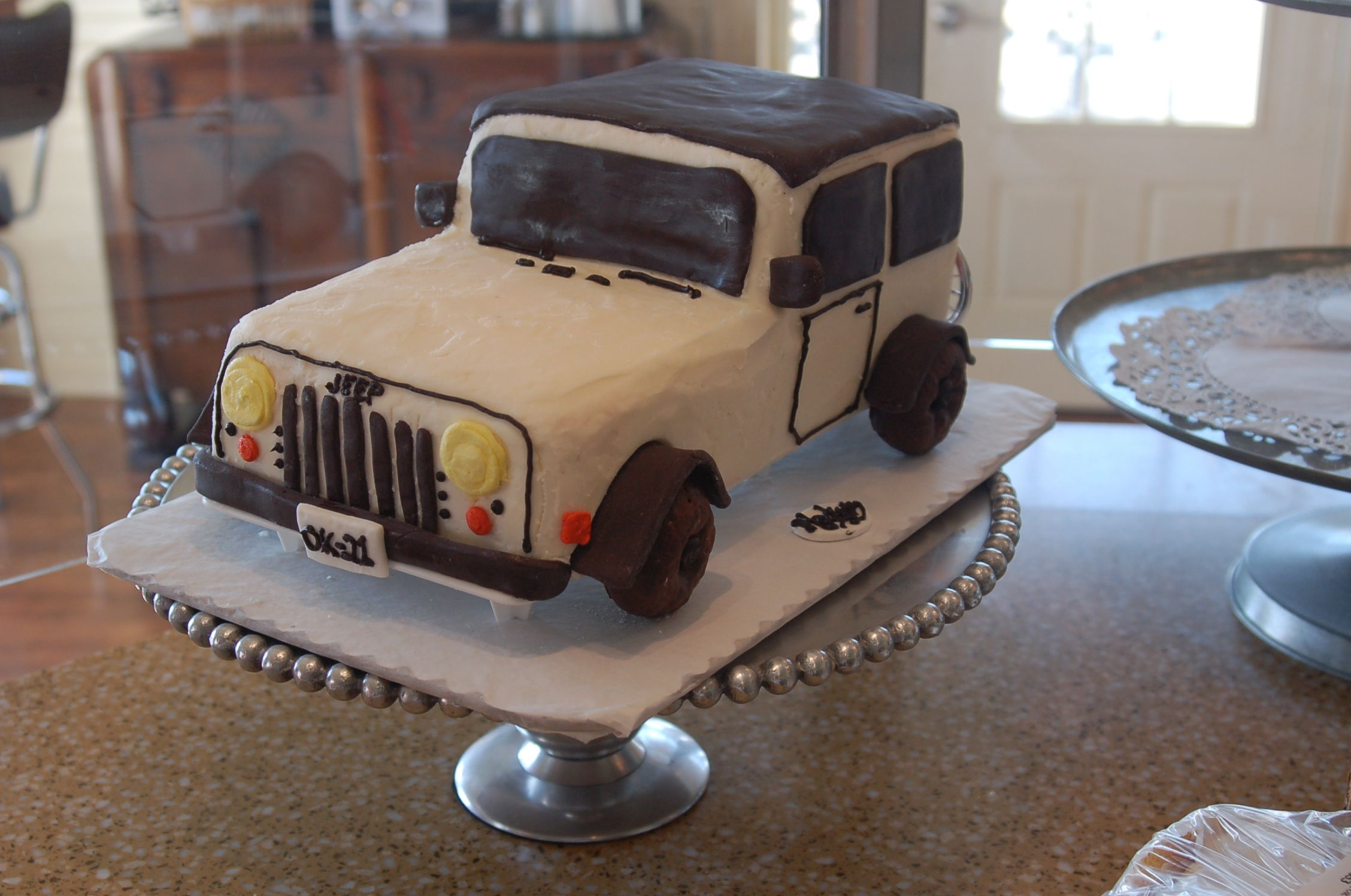 Pin Jeep 4x4 Birthday Cake   Other Cakes Cake on Pinterest
