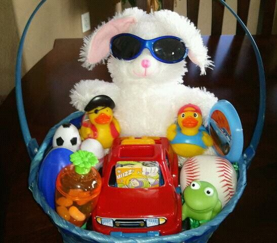 Baby boy gifts for easter buy baby easter activity basket in cool baby boy easter basket gift ideas negle Images