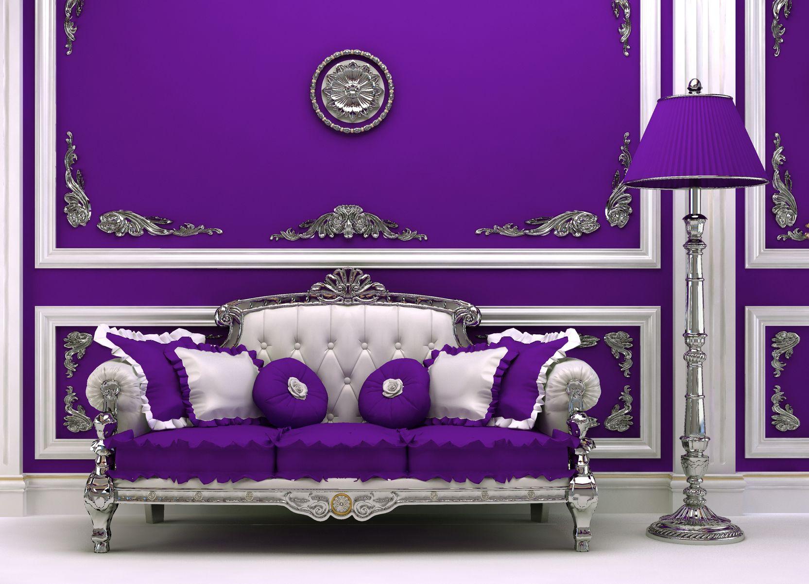 My Love Of Baroque Purple Purple Love Pinterest