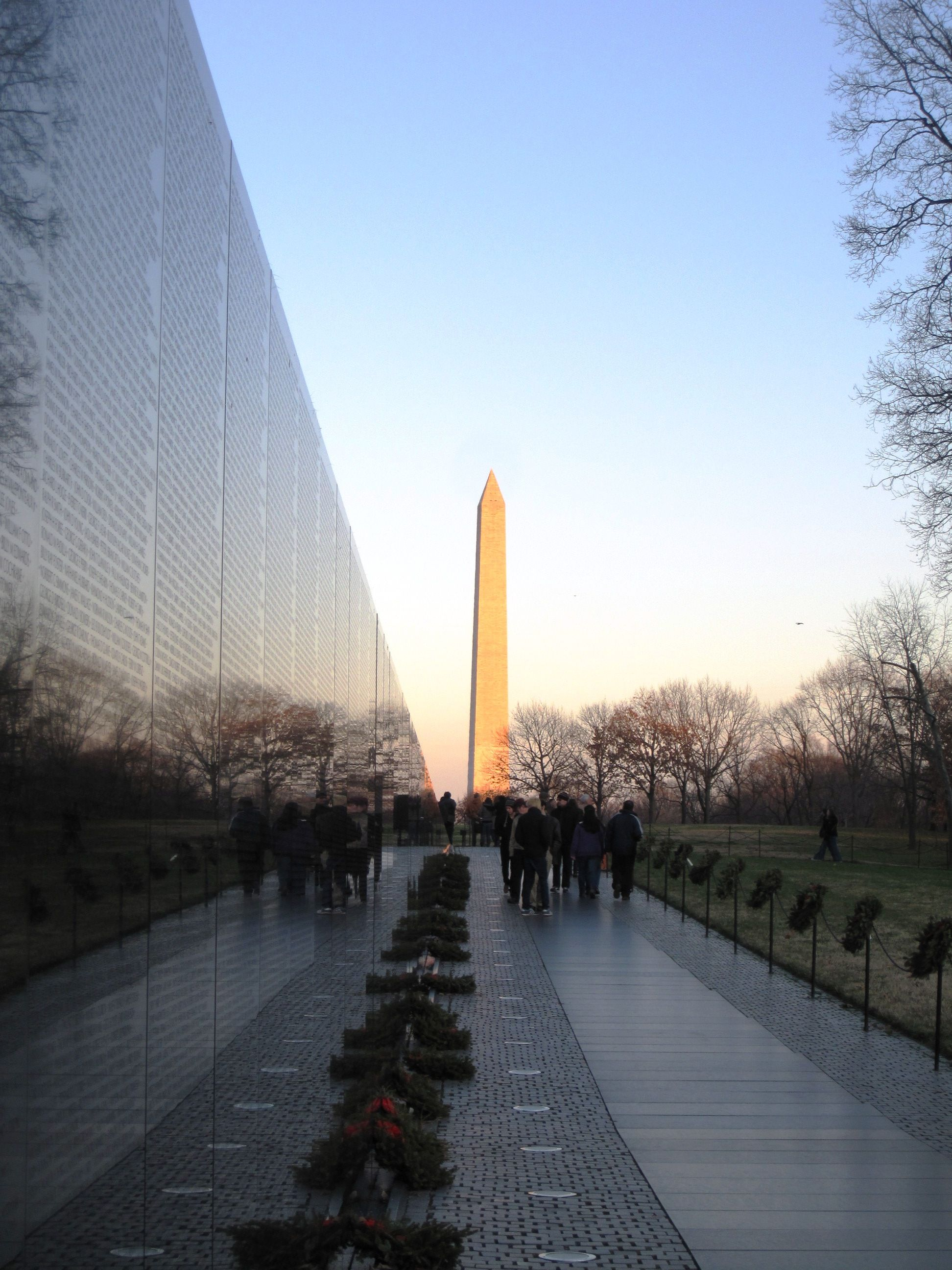 Vietnam Wall Washington DC Tour Our Capital Pinterest