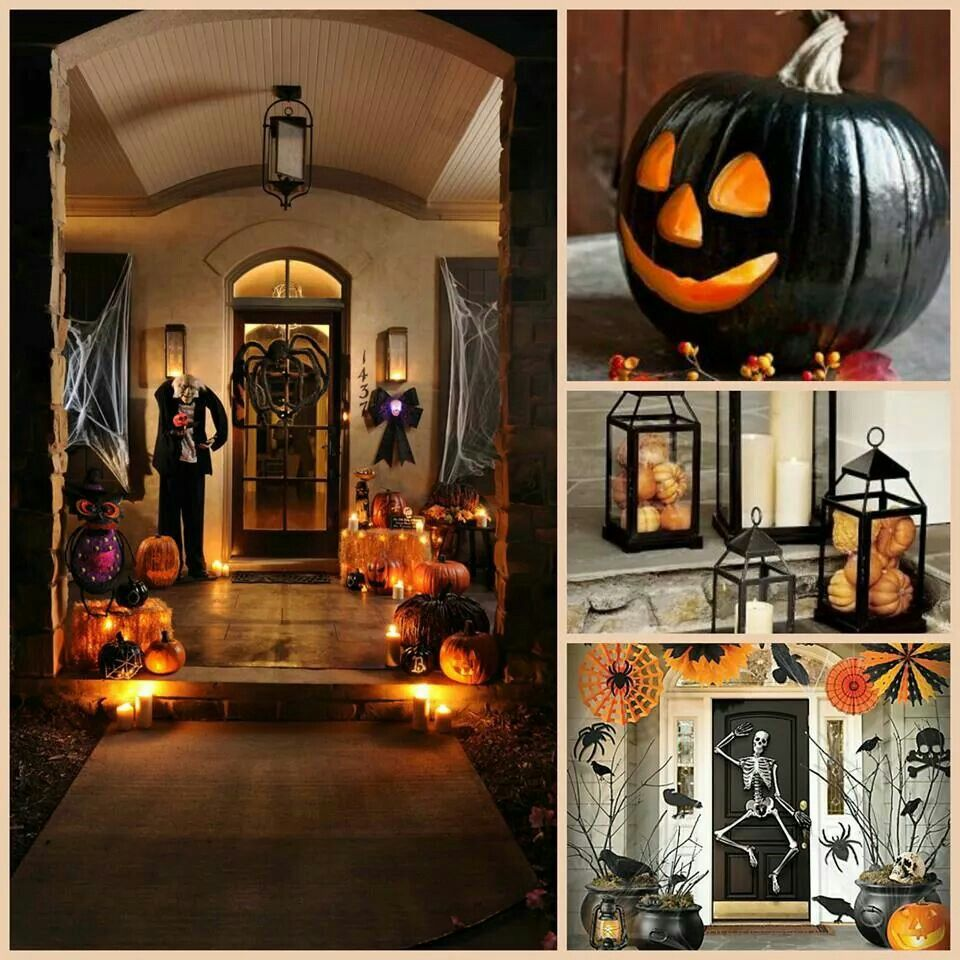 Beautiful porch decorations all things halloween pinterest Gorgeous home decor pinterest