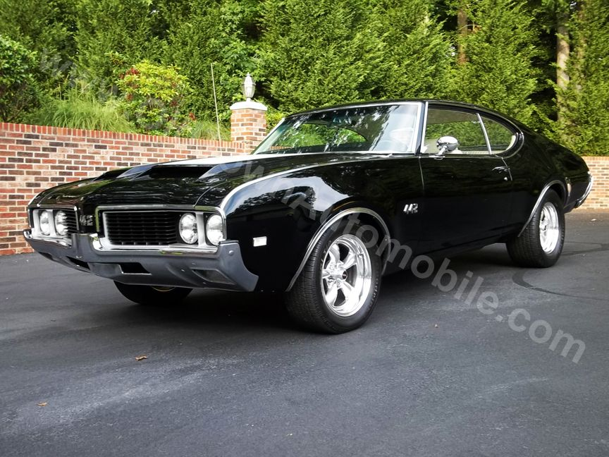 Tuxedo Black 1969 Olds 442! DREAM CAR!!! | Cars and ...