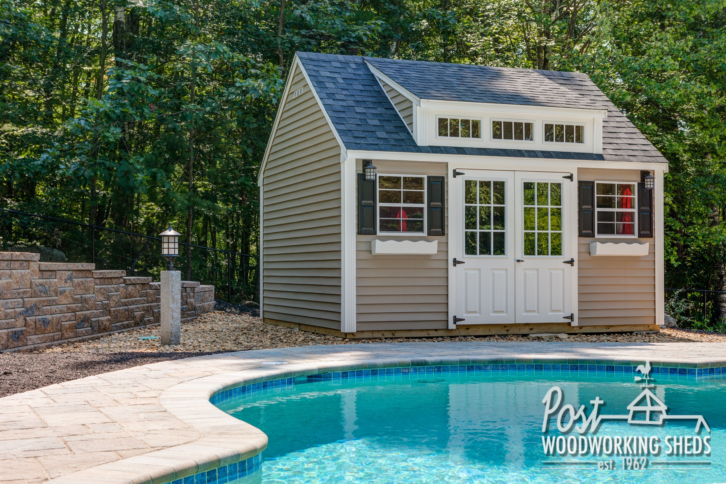 Pool shed ideas joy studio design gallery best design for Pool house shed plans