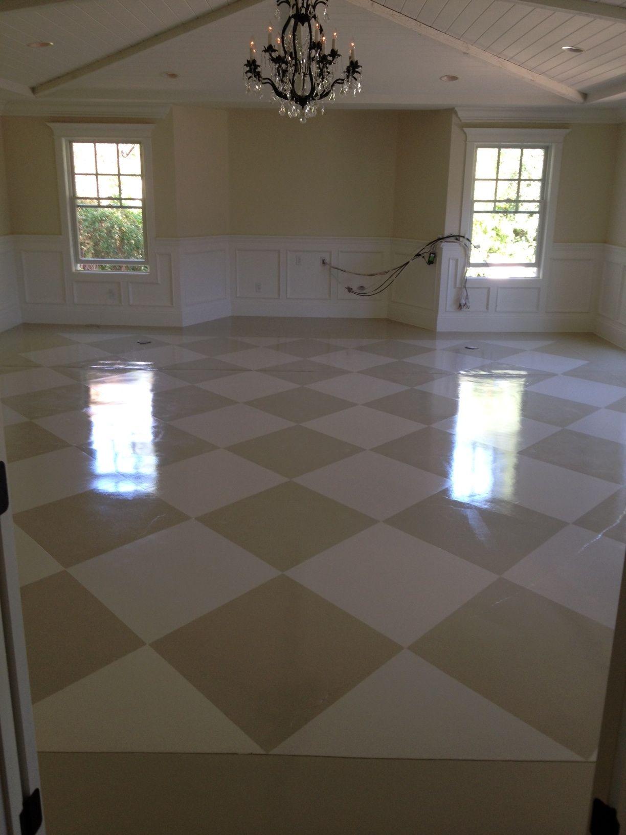 painted concrete floor home pinterest