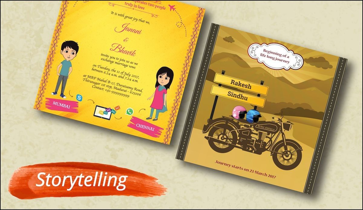 Creative Ideas For Indian Wedding Invitations Invitationswedd Org