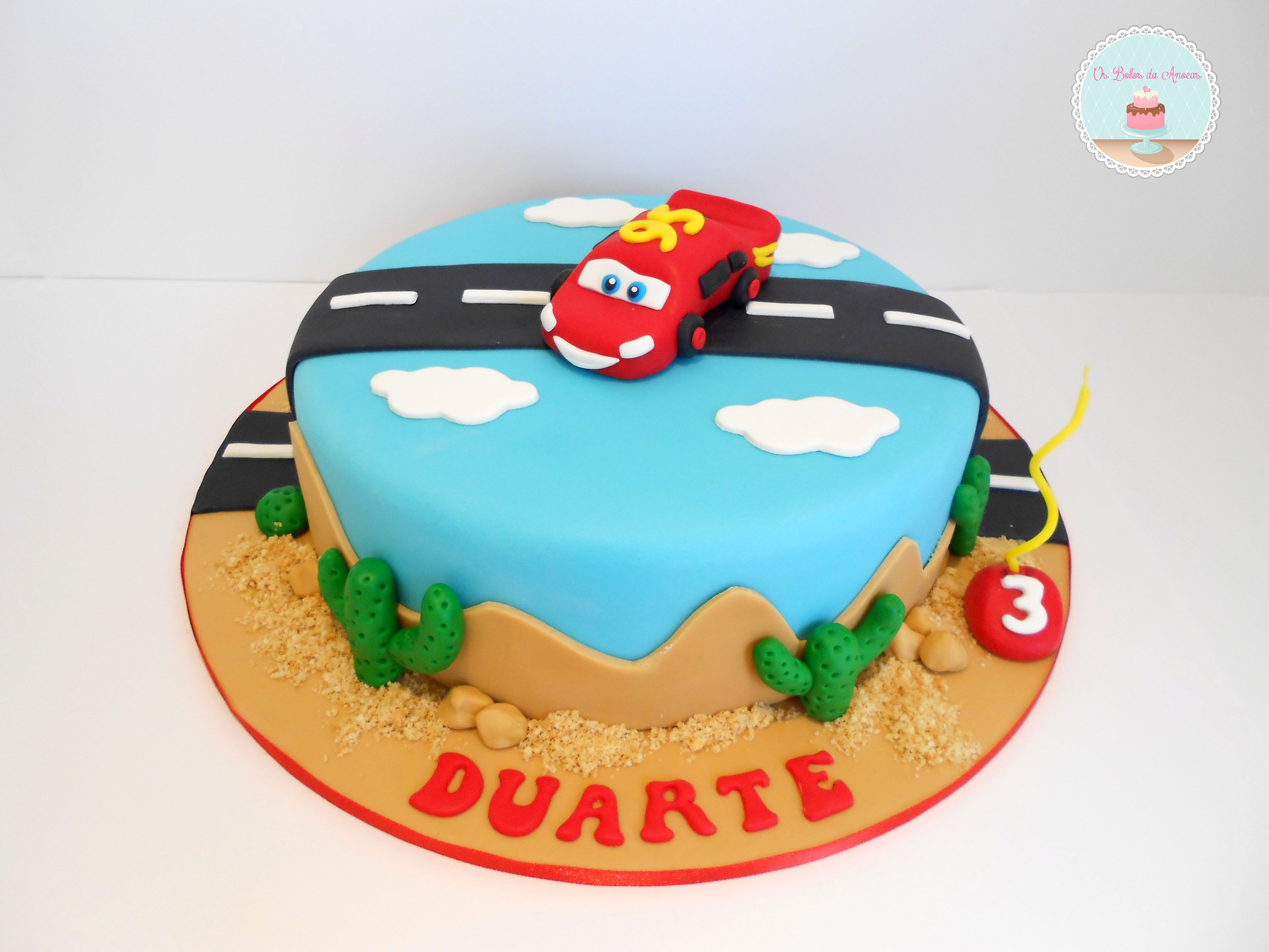 Cake Designs Disney Cars : Disney Cars Cake Jackson : ) Pinterest