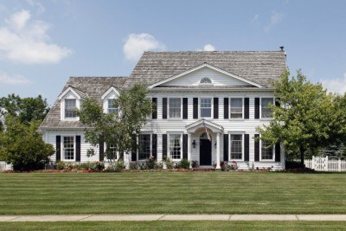 My dream colonial home...