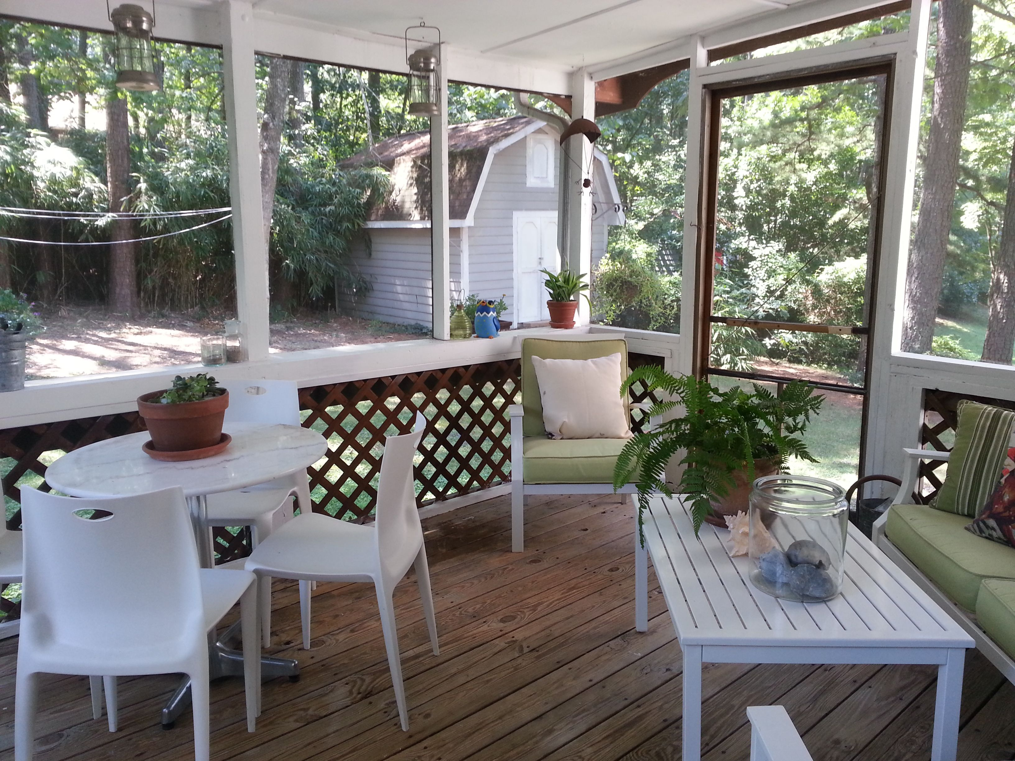 Dan Ini Garden Shed With Screened Porch