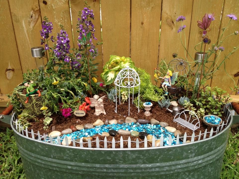 fairy garden project mainenana13 pinterest