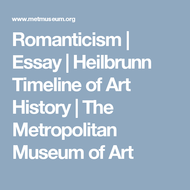Essay about art history