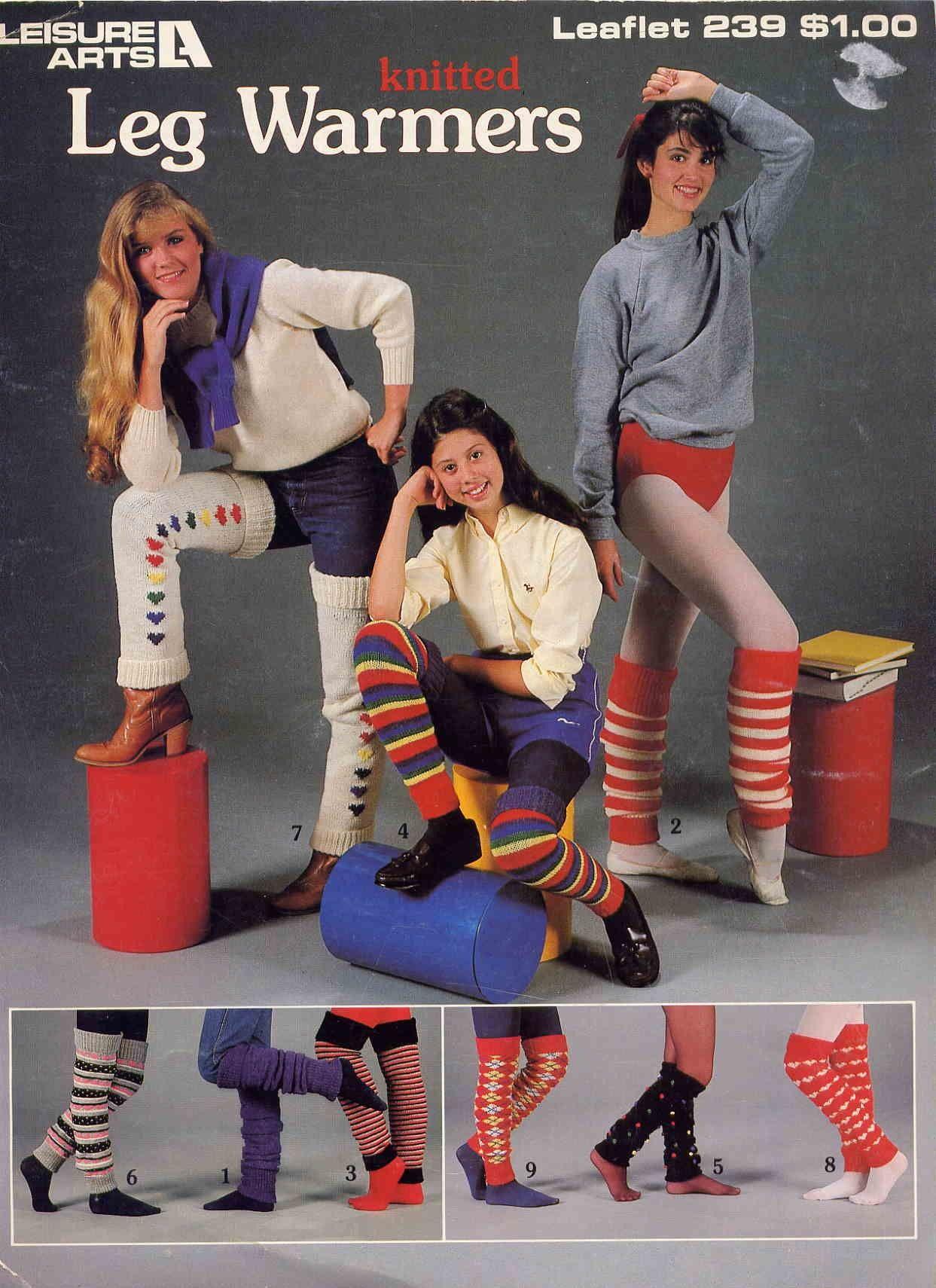 Knitted Leg Warmers | I Love The 80u0026#39;s | Pinterest