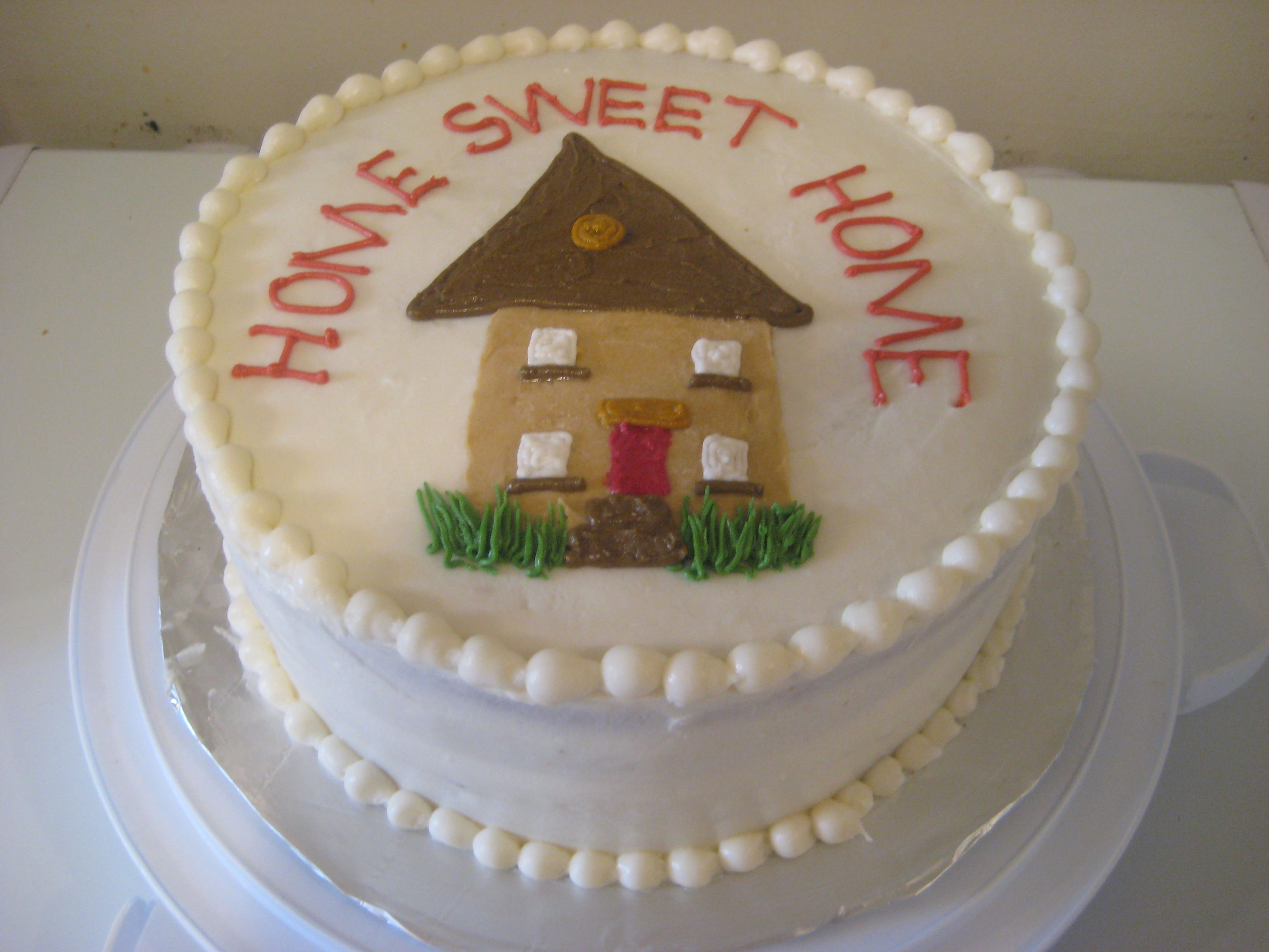 Cake Designs For Housewarming : Housewarming cake I did. Cake! Pinterest
