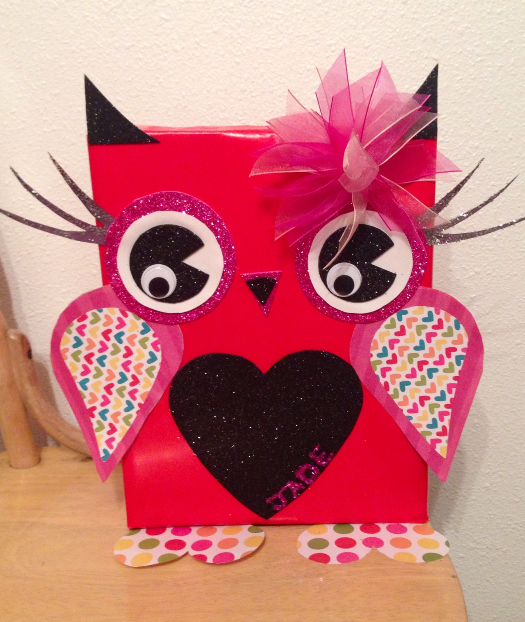 girl valentine's day box ideas