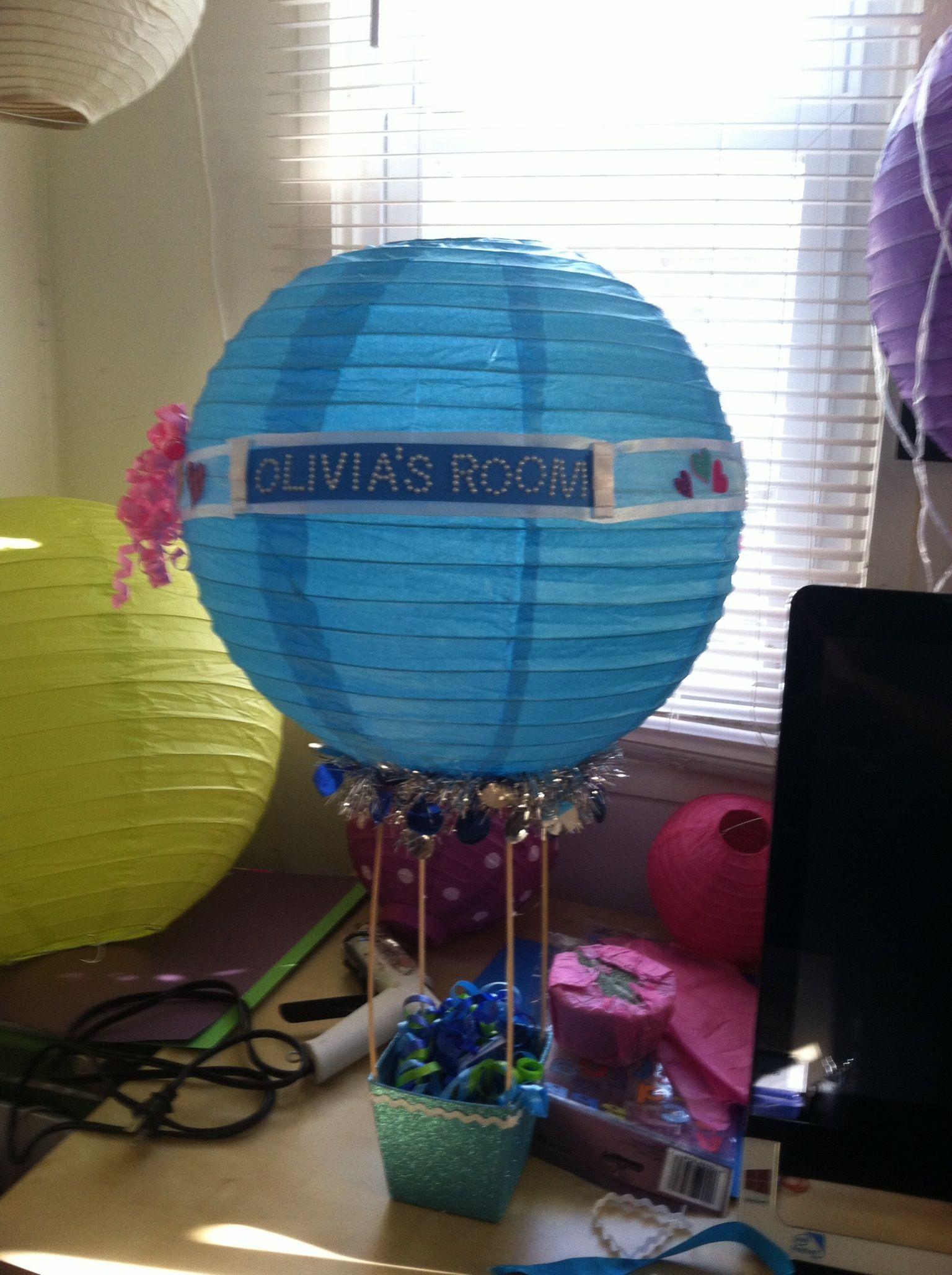 paper lantern hot air balloon basket dc candy drops llc pintere