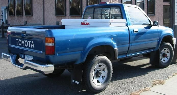 1994 Toyota Pickup Blue 200 Interior And Exterior Images