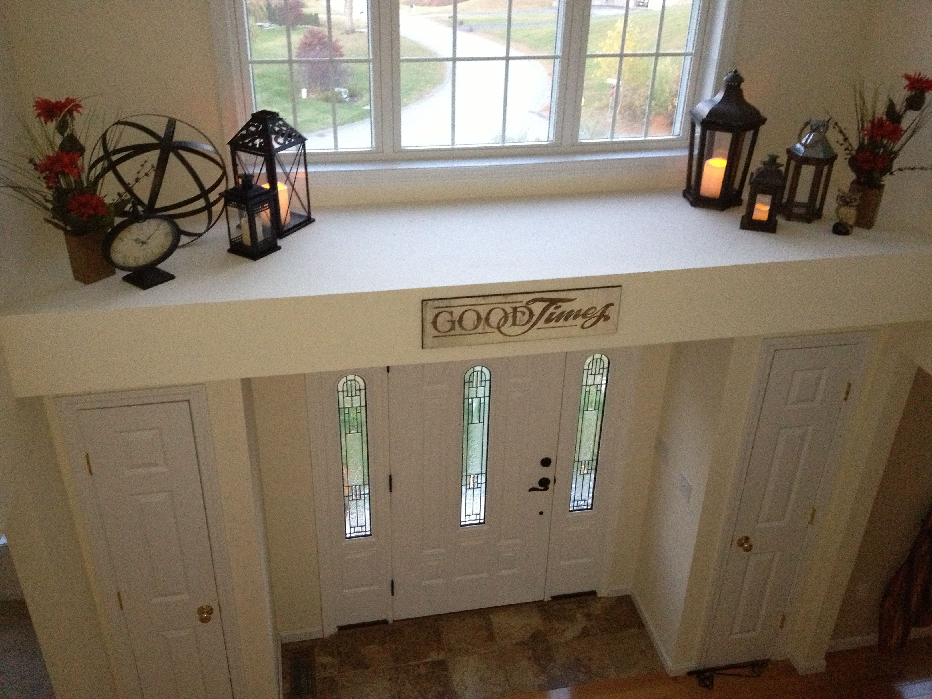 foyer ledge for our home pinterest