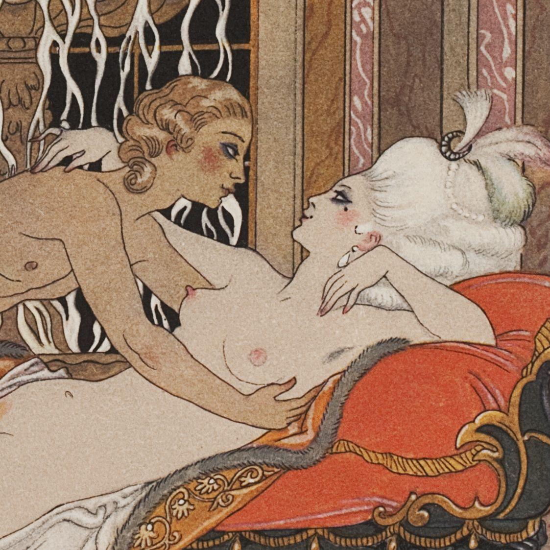 Эротические гравюры старинные 24 фотография