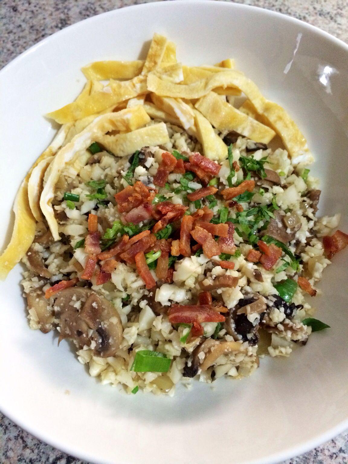 "Asian Cauliflower Fried ""Rice"" | Paleo Diet | Pinterest"