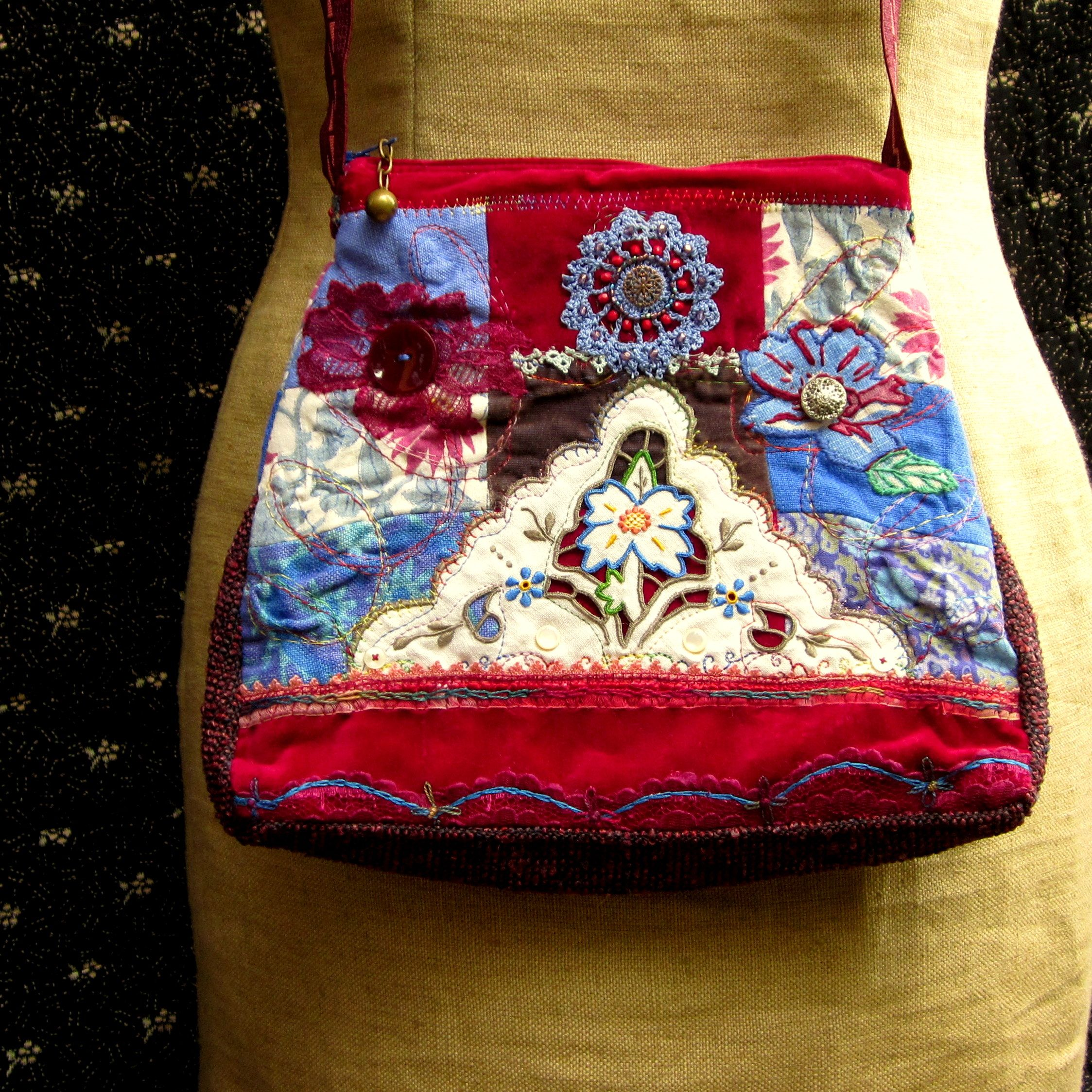 handmade quilted handbags - photo #47