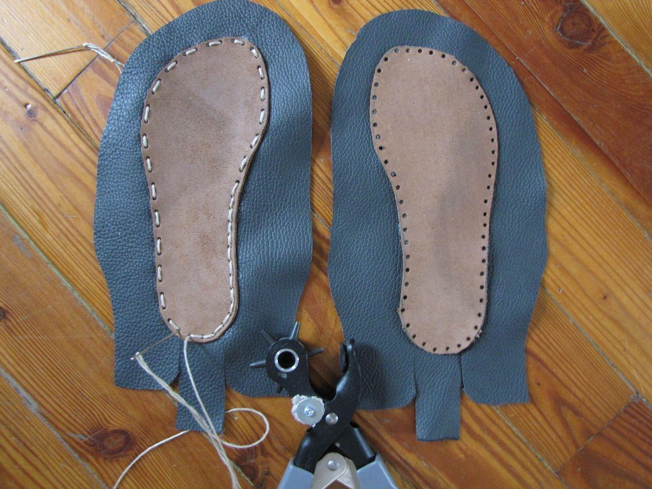 Домашняя обувь своими руками. Нина Бурим Идеи и