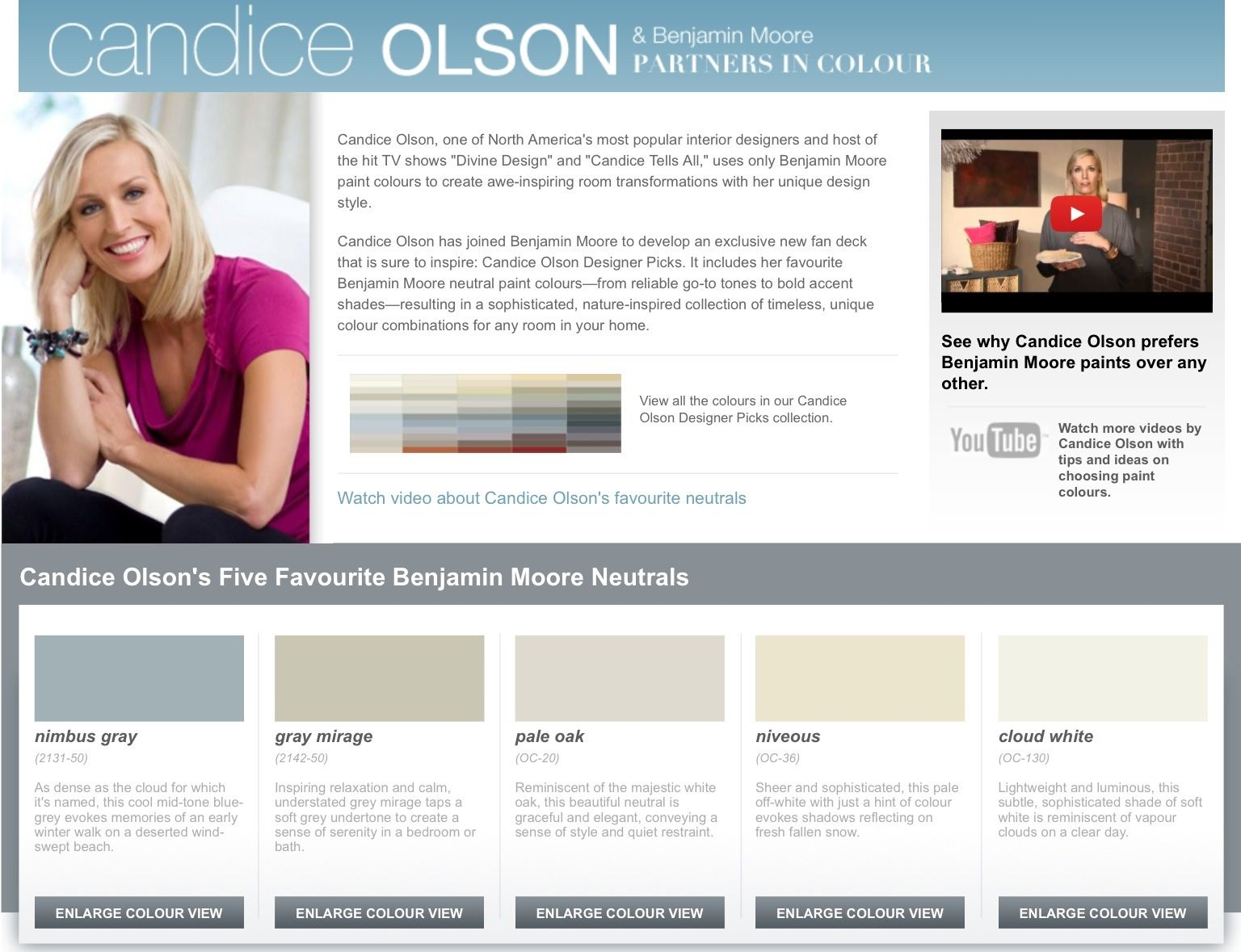 candice olson 39 s colors paint candice olson designer