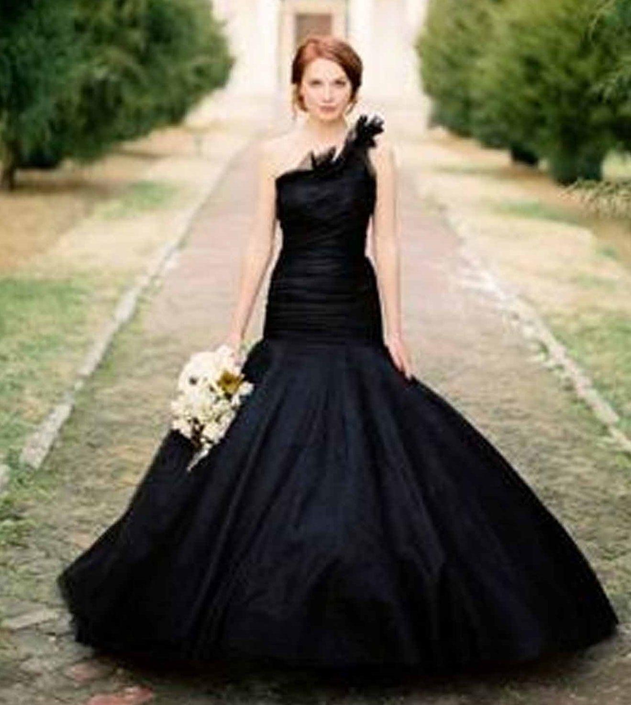 Черные платья для невесты