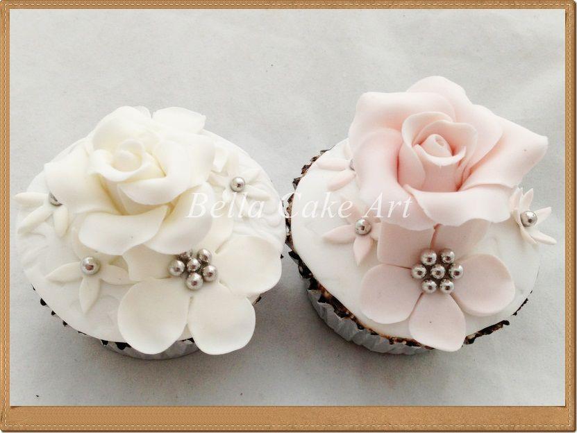Bella Cake Art Facebook : Wedding Cupcakes by Bella Cake Art Cupcakes Pinterest