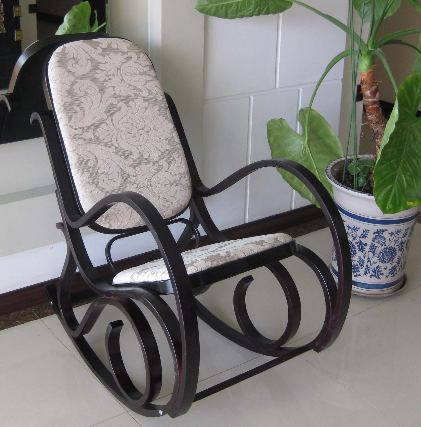 Bentwood Rocking Chair Re-Do Inspiration  Craft Ideas  Pinterest