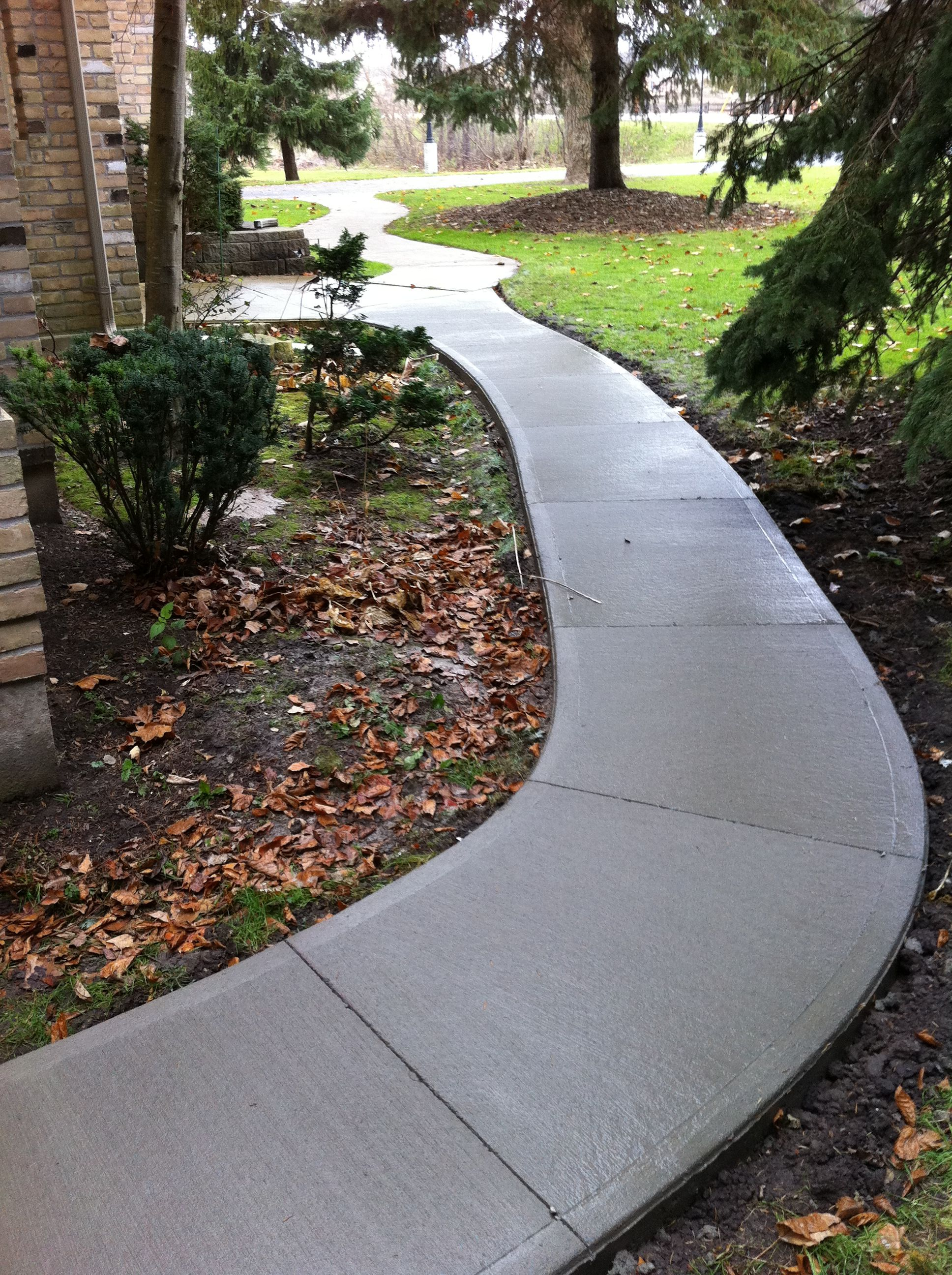Pin it like image - Stamped concrete walkway ideas ...