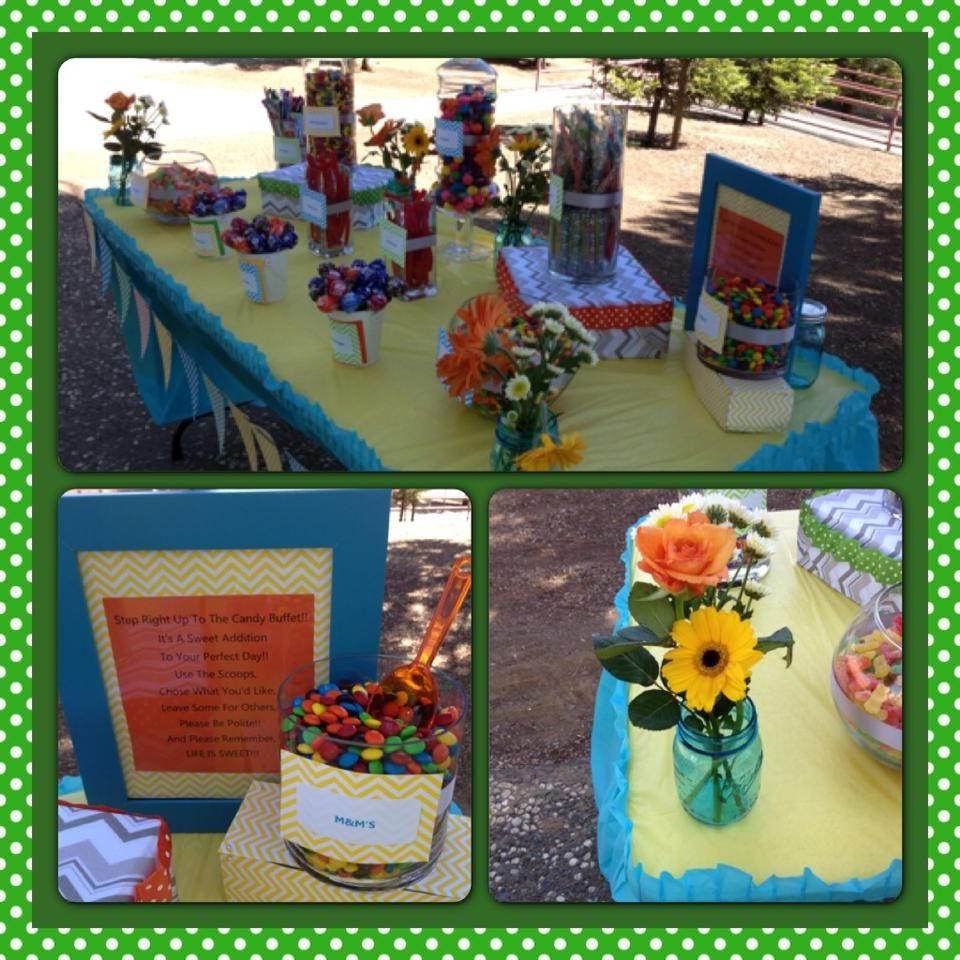 6th grade graduation picnic candy buffet gifts and things pintere for 6th grade graduation ideas